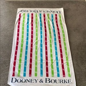 Dooney & Bourke beach towel